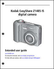 Kodak EasyShare Z1485 Digital Camera User Guide Instruction Manual