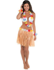 Hula Girl Costume In Girls Fancy Dress Ebay