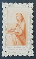 CANIVET Marie Image Pieuse HOLY CARD 19thC Santino 7