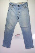 Wrangler texas stretch (Cod. M1223) tg 50 W36 L34 jeans vita alta usato vintage