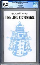 Doctor Who: Time Lord Victorious #1  CGC Graded 9.2 (NM-) 2020 - Variant Edition