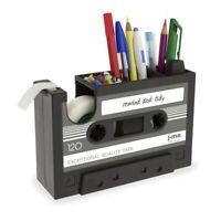 Dispensador de Cinta de Cassette Boligrafo Florero Lapiz Maceta Papeleria E J9X6