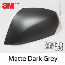 20x30cm FILM Matte Dark Grey 3M 1080 M261 Vinyle COVERING New Series Wrapping