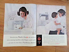 1964 Vintage Singer Sewing Machine Ad  For Every Woman in America