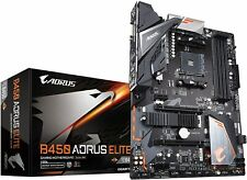 GIGABYTE B450 AORUS ELITE (AMD Ryzen AM4/ATX/M.2 Thermal Guard/Hmdi/DVI/USB 3.1
