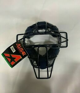 ALL-STAR CATCHERS FACE MASK GUARD FM55EXT 9 -12 YRS NAVY