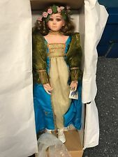 Künstlerpuppe Porzellan Puppe 73 cm. Top Zustand