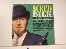 """45 Vinyl Records Mr. Acker Bilk EP """"Plays With His Paramount Jazz Band"""""""
