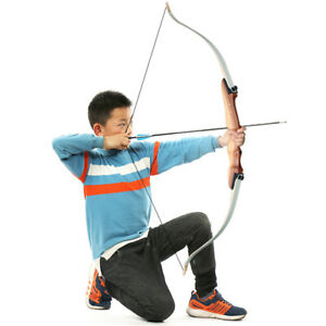 "20lbs 48"" Archery Youth Beginner Takedown Recurve Bow Hunting Right Hand Target"
