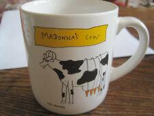 VTG MADONNA'S COW & MADONNA'S CAT Ceramic Coffee Cup- Cartoonist CALLAHAN