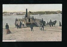 Devon DEVONPORT Torpoint Ferry c1900s? PPC