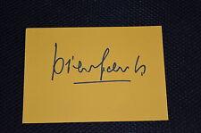 Diego Della Valle SIGNED AUTOGRAFO in persona TOD 'S SCARPE 10x15 cm
