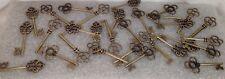 BRAND NEW Mixed Set of 30 Large Skeleton Keys Medievil Middle Ages Theme