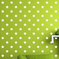 "84 of 4"" White Star DIY Decor Removable Peel Stick Wall Vinyl Decal Sticker"
