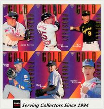 Baseball Trading Cards Set Futera Season 1996