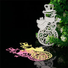 DIY Snowman Cutting Dies Metal Stencil Scrapbooking Paper Card Embossing Craft