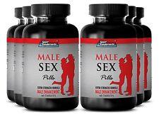 Muira Puama - Male Sex Pills 1275mg - Increases Penile Length Up Supplements 6B