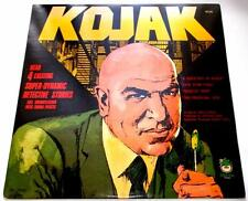 Kojak 4 Exciting Stories / Full Dramatization TV 1977 Peter Pan 8188 33rpm VG++