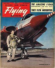 RAF FLYING REVIEW APR 56 FACSIMILE: F-104A/ 105 SQDN MOSSIES/ SAAB DRAKEN/ Ar234
