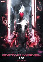 CAPTAIN MARVEL #16 Mark Brooks Boss Logic Variant Marvel 2020 NM 3/18 Ships
