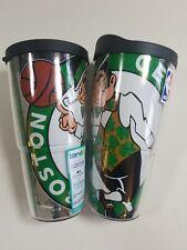 Set of 2 Tervis Tumblers NBA® Boston Celtics 24oz Logo Basketball Insulated Cups