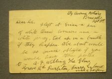 More details for autograph letter signed by the nz tennis star, anthony wilding, 1910