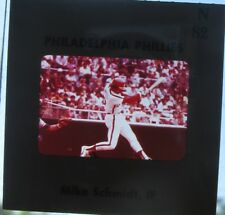 Mike Schmidt circa mid-1970's color media slide (Philadelphia Phillies)