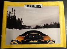 "1995 Ski-Doo Snowmobile & Accessories Sales Brochure 9"" X 7"" 32 Pages (719-1)"