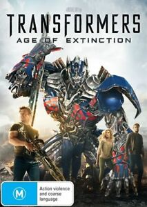 Transformers - Age Of Extinction (DVD,2014) Mark Wahlberg - NEW+SEALED