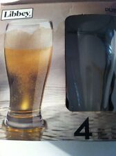 NEW Libbey Pub Pilsner Glass  Set of 4 (Free Shipping)