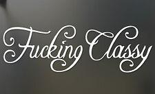F*cking Classy Funny Sticker JDM Honda Drift car truck window laptop Decal