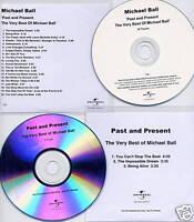 MICHAEL BALL Very Best Of UK 20-trk promo test CD + bonus 3-trk promo CD single