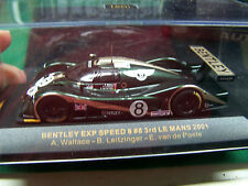 1:43 IXO Models Bentley EXP Speed 8  #8    3rd Le Mans 2001    Nice     LMM 030
