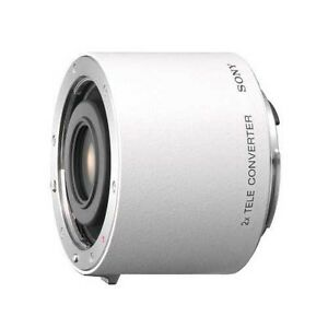 SONY SAL20TC 2x Teleconverter Extend focal length of master lens From Japan EMS