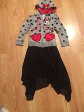 D- signed skirt and Disney Minnie Mouse Jacket Set Xs 6