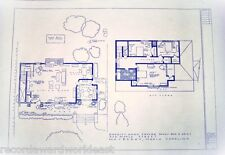 """The Andy Griffith TV Show House Home 322 Maple St. Mayberry Blueprints 24"""" X 36"""""""
