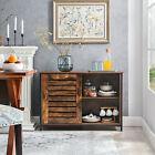 Sideboard Kommode Schrank Küchenschrank, mit Schiebetüren,Wohnzimmer LSC081B01