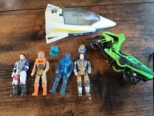 m.a.s.k. toys kenner lot (4 figures and 2 vehicles)