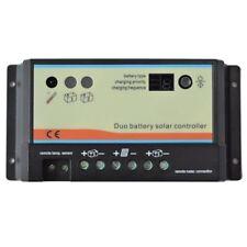 10a 10 amp batterie dual solar charge controller regulator camping-car camper t4 t5