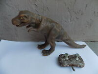 Wow Wee WowWee Intl 1999 Silicone Dinosaur RC Remote Control Toy - NOT WORKING