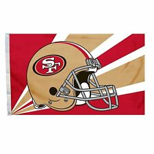 SAN FRANCISCO 49ers FLAG 3'X5' HELMET BANNER: FREE SHIPPING