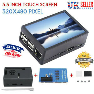 """3.5"""" 320*480 TFT Touch Screen LCD Display Case For'Raspberry Pi A B 2B+A 3Bs1"""