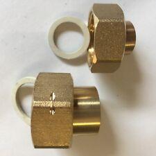 """Löt-Verschraubung 15 18 mm 3/4"""" ÜW 22mm x 1"""" Überwurf Wasserzähler-Verschraubung"""