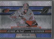 10/11 Zenith Crease is the Word Cam Ward 7 Hurricanes