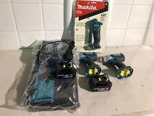 "Makita LXT321 3 Pc 18V LXT Cordless 1/2"" & 3/8"" Dr Impact Wrench & Flashlight"