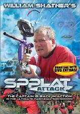 Spplat Attack (DVD New) *William Shatner*Mancow* Extreme Paintball