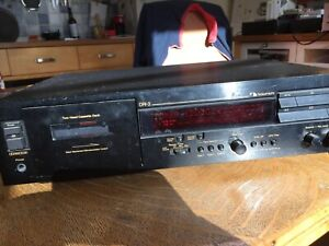 Nakamichi two head cassette deck with instructions