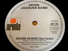 "Peter Jacques Band-Walking On Music 7"" vinyle"