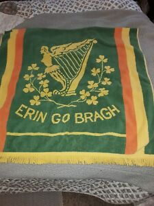 VG Vintage Martex Irish Erin Go Bragh Large Beach Towel