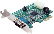 startech.com 1 Port flache Ausführung Native PCI Express Serie Karte mit 16950